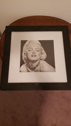 Marilyn monroe picture. for Sale in Harpers Ferry, WV