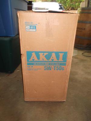 Two vintage Akai (1980) stereo speakers (2) for Sale in Atlanta, GA