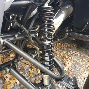 Photo Set Shocks Yamaha Banshee 350 Black Edition