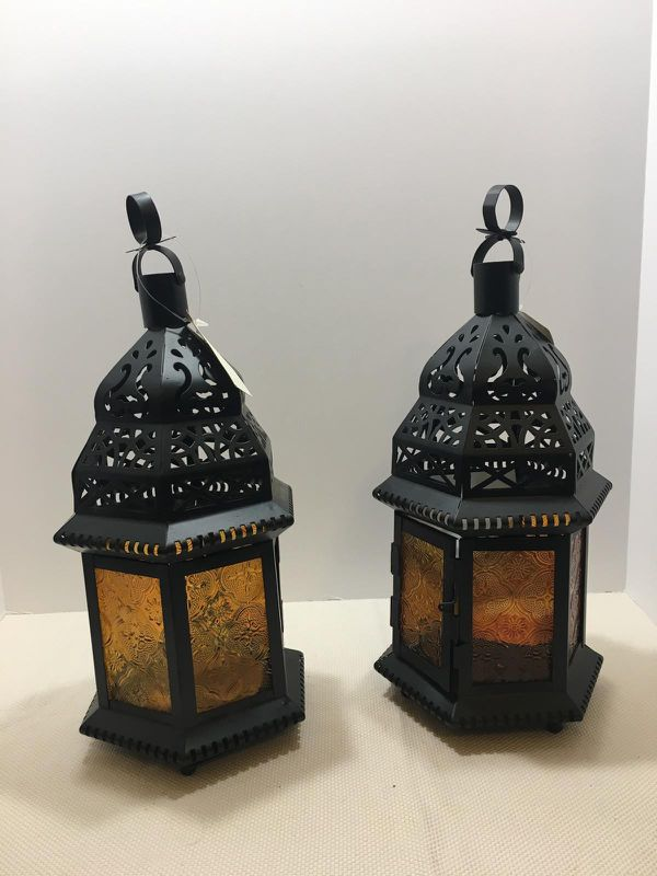 Set Of Two Decorative Lanterns For Sale In Pomona Ca Offerup