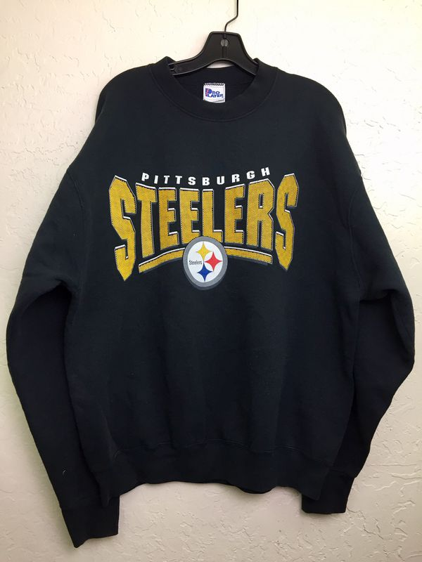new style 65a40 8de4a 90s Vintage Pittsburgh Steelers Sweatshirt XL for Sale in Pomona, CA -  OfferUp