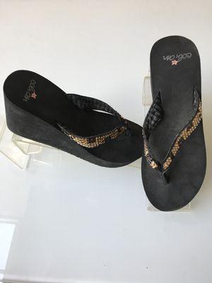 4111f421d327 Cobian Custom made designer Swarovski Crystal flip-flops for Sale in Boca  Raton