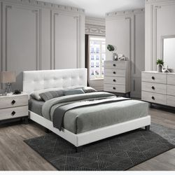 Full Size Bed Frame And Mattress Orthopedic  Thumbnail