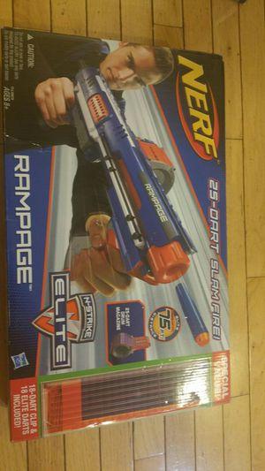 Nerf N-Strike Elite Rampage Slam Fire for Sale in Nokesville, VA