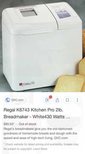 Regal Pro Bread Maker 610 Stella Link For Sale In Houston Tx Offerup