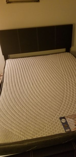 FULL SIZE MATTRESS & FRAME USED for Sale in Germantown, MD