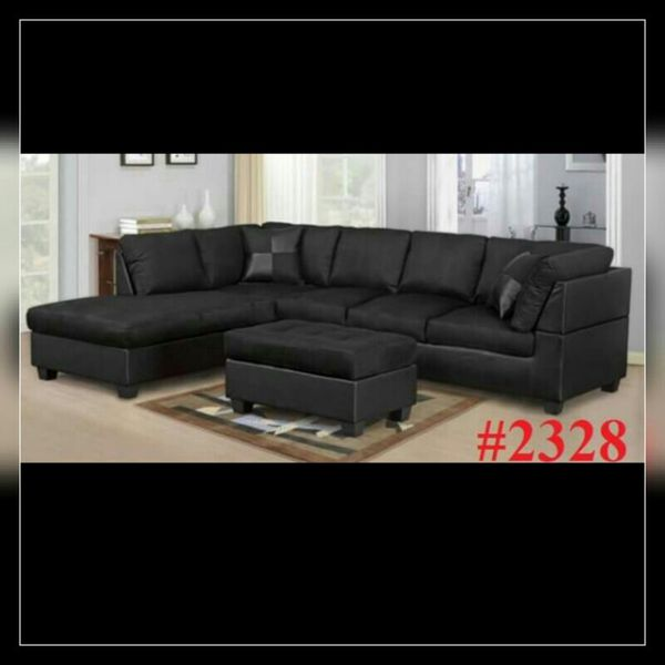 Super Free Delivery Brand New Black Sectional Sofa Uwap Interior Chair Design Uwaporg