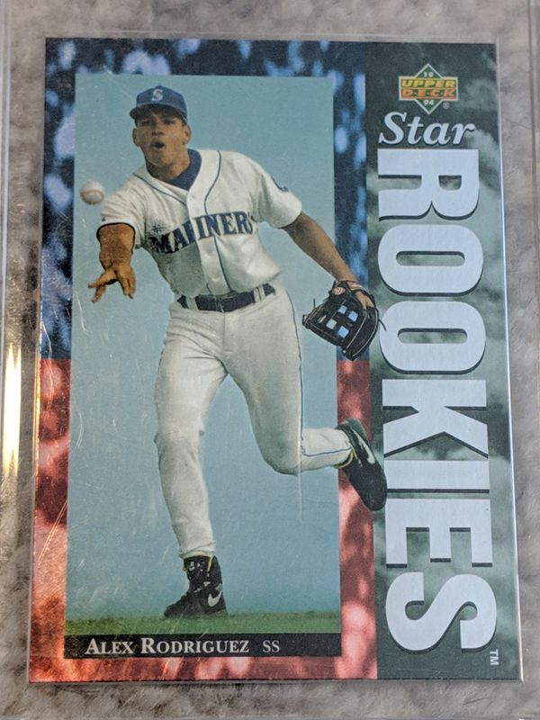 1994 Upper Deck 24 Alex Rodriguez Rookie Near Mint For Sale In Raleigh Nc Offerup