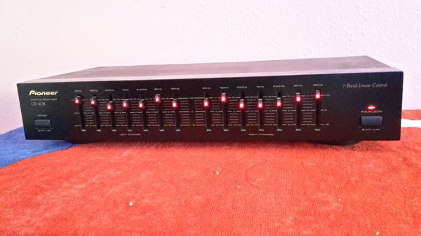 pioneer gr 408 stereo graphic equalizer for sale in houston tx offerup. Black Bedroom Furniture Sets. Home Design Ideas