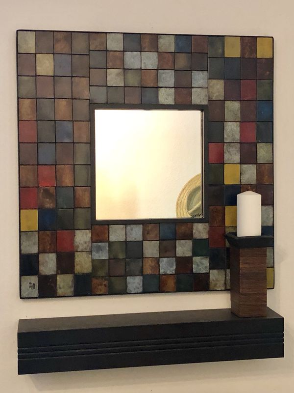Pier 1 Wall Mirror Unique And Beautiful For Sale In Tustin Ca