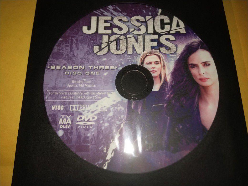 Jessica Jones Complete Third Season DVD!