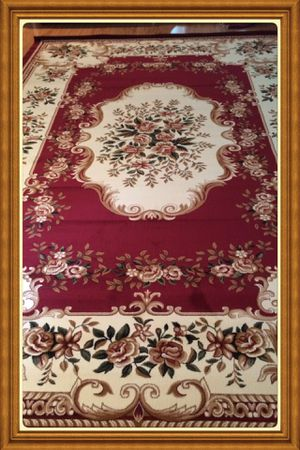 Brand new Traditional design area rug size 8x11 nice red carpet Persian style rugs for Sale in Arlington, VA
