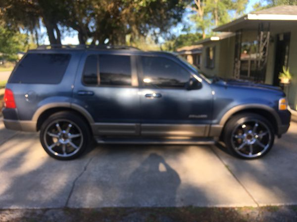 2002 Ford Explorer Eddie Bauer >> 2002 Ford Explorer Eddie Bauer For Sale In Mount Dora Fl