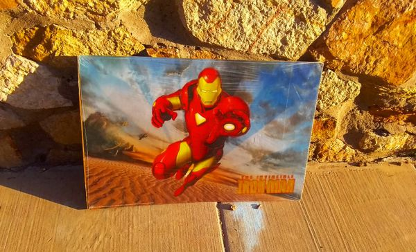 2000's Iron Man Poster (Gold Font) for Sale in El Paso, TX ...