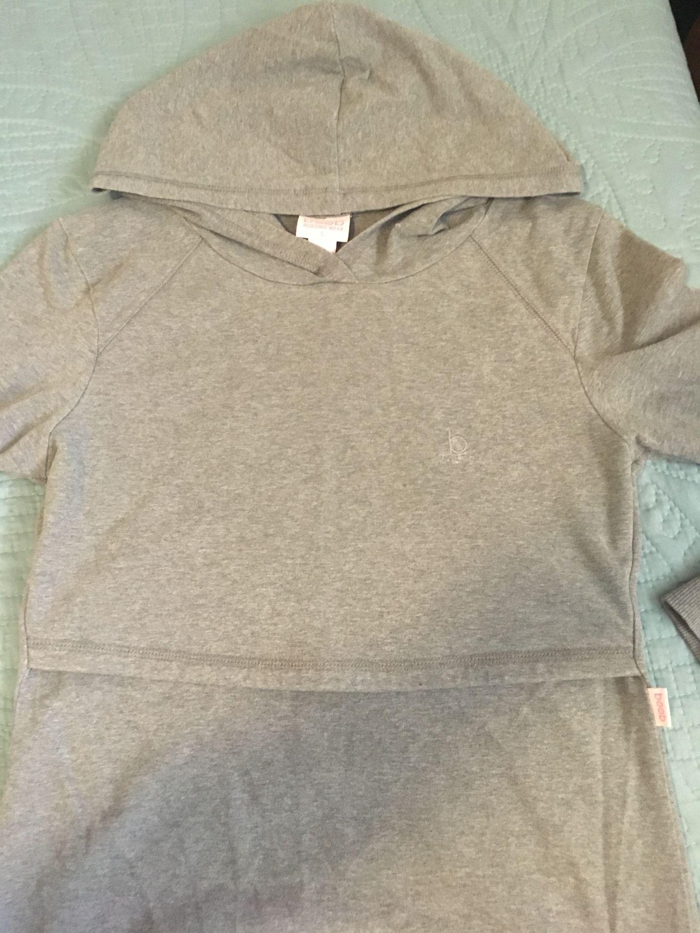 Boob Nursing sweatshirt size small