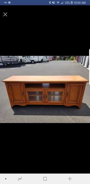 tv entertainment, dresser, chest, server, buffet, console table Solid wood for Sale in Chantilly, VA