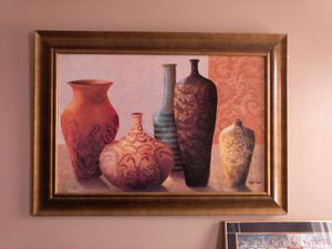 "Framed Art "" Vases"" 31"" × 43"" for Sale in Baltimore, MD"