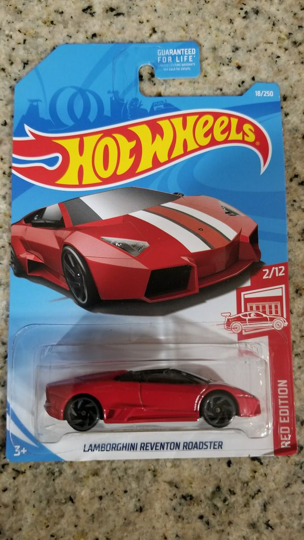 Hot Wheels Lamborghini Reventon Roadster Red Edition Target