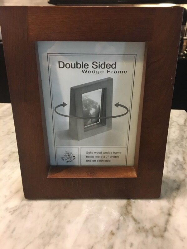 Double Sided Wedge Photo Frame Household In Phoenix Az Offerup