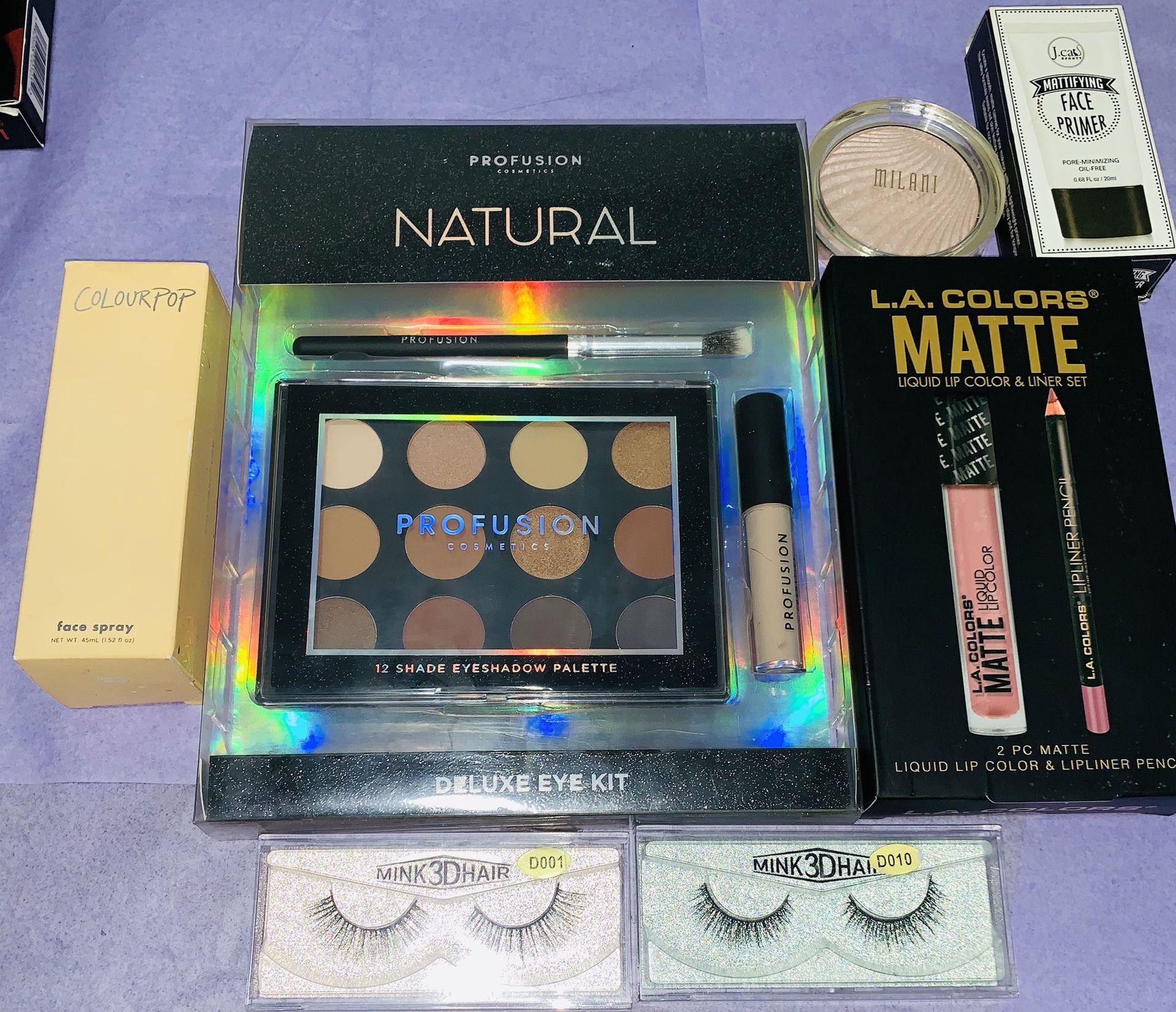 Drugstore makeup bundle