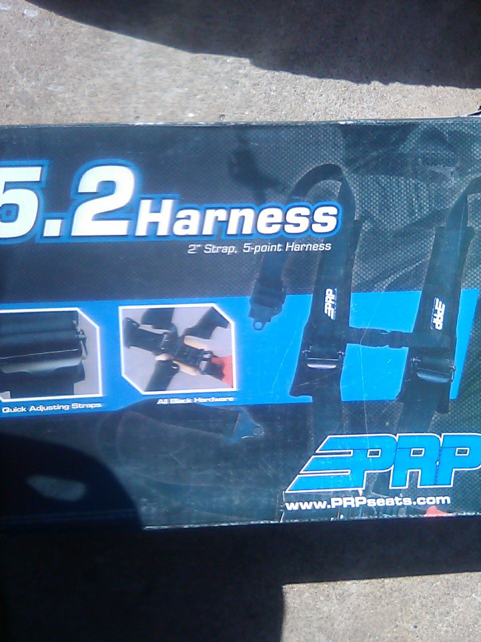 Full harness seat belts and hardware