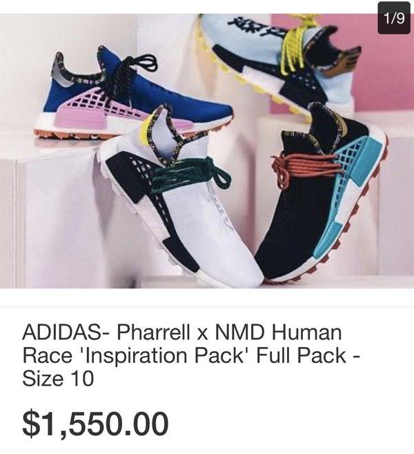 pharrell nmd human race inspiration pack