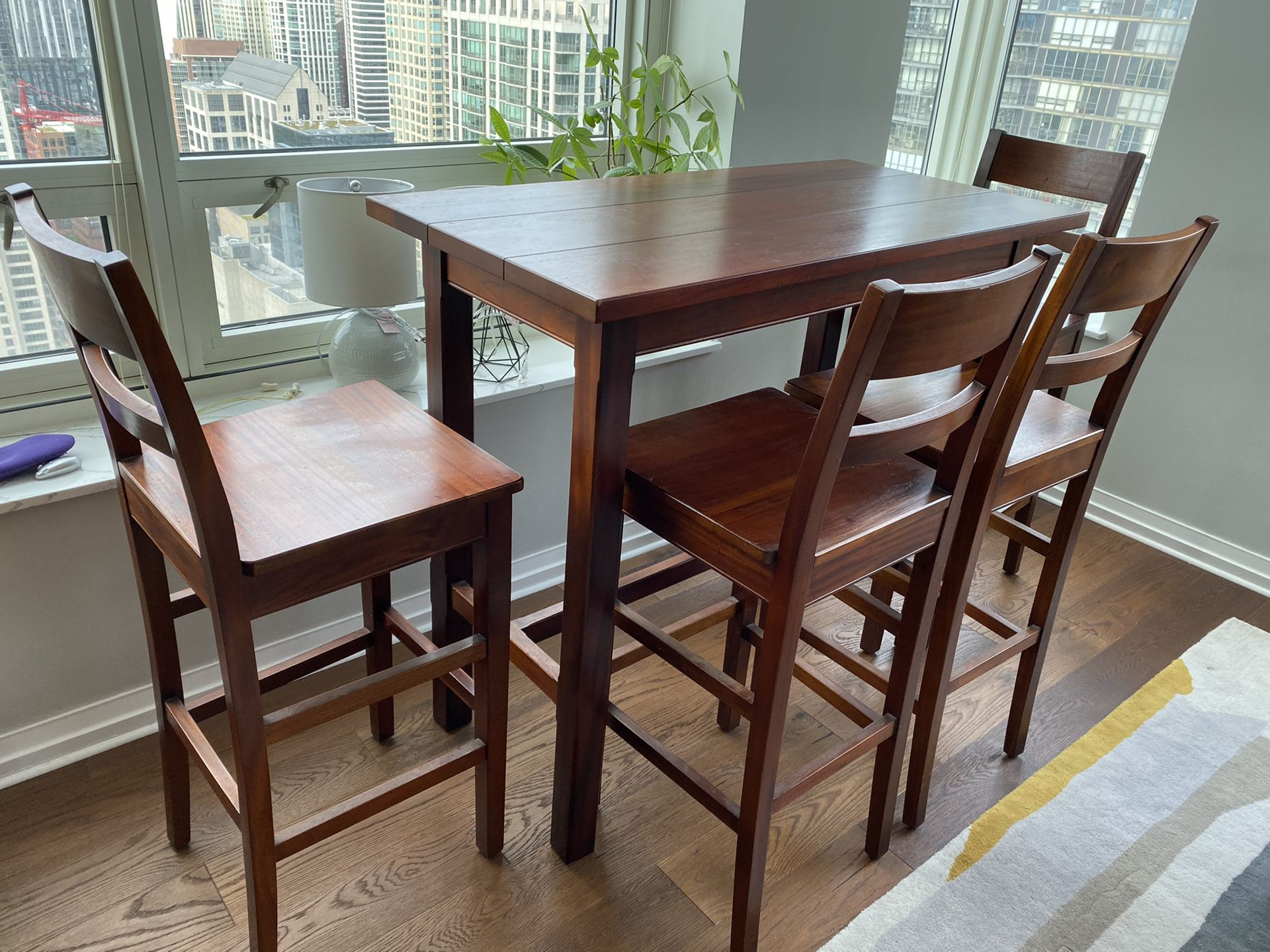 Crate And Barrel Havana Solid Mahogany, Used Dining Room Chairs Chicago