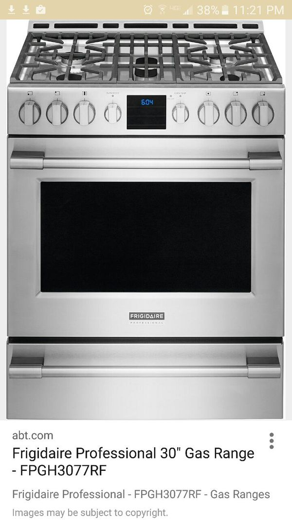 FRIGIDAIRE Gas Range FGGRF For Sale In Covina CA OfferUp - Abt gas ranges