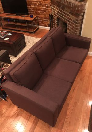 Parker Java 3-Section Couch for Sale in Washington, DC