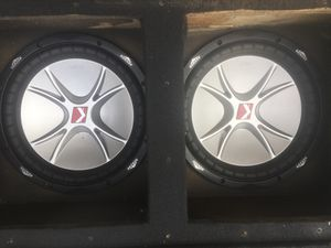2 12s Speakers are new ... for Sale in Los Angeles, CA