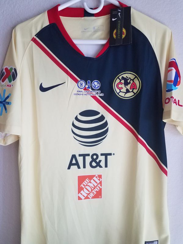 34a740688b0 Nike Mens 18/19 Club América Home JERSEY original for Sale in Phoenix, AZ -  OfferUp