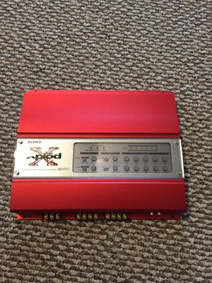 SONY XPLOD car Audio Amplifier for Sale in Milford, CT