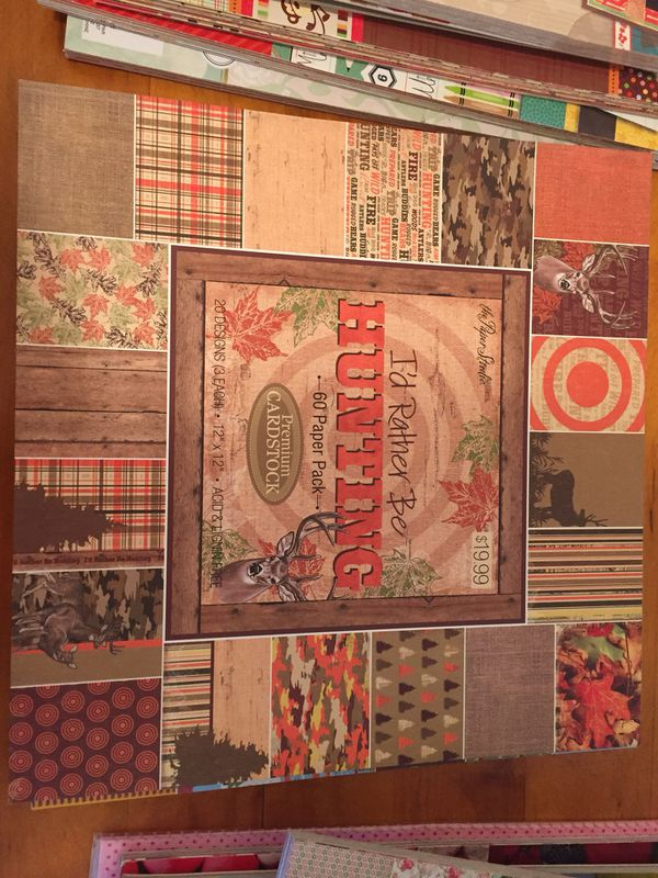 12x12 Scrapbook Paper Pads For Sale In Stockton Ca Offerup