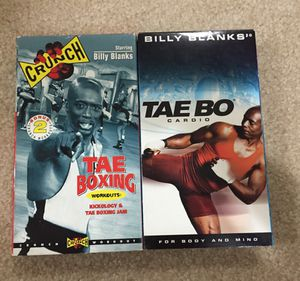 Workout VHS by Billy Blanks for Sale in Sterling, VA