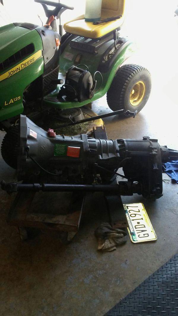 Jasper 42re transmission from 94 grand cheroke for Sale in Lancaster, PA -  OfferUp