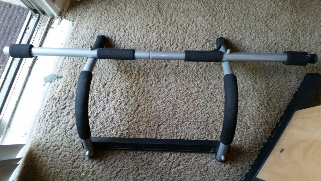 Titan Fitness Pull Up Bar Over the Door Upper Body ... $17.99 from 5+ stores Titan Fitness Pull Up Bar
