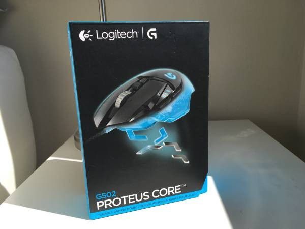 4e318f2c4f4 Brand New - Logitech G502 Proteus Core Gaming Mouse for Sale in San ...