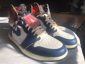 Air Jordan retro 1 Union Los Angeles (storm blue) for Sale in Portsmouth, VA