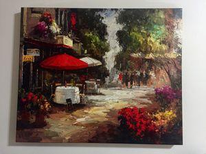 European Cafe Canvas Print for Sale in Washington, DC