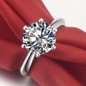 New 18 K White Gold Engagement Ring For In Jacksonville Fl