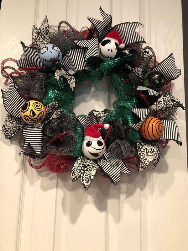 Nightmare Before Christmas Wreath For Sale In La Mirada Ca Offerup