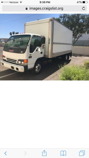 2004 gmc isuzu box truck npr 3500 gas  16 feet for Sale in Phoenix, AZ -  OfferUp