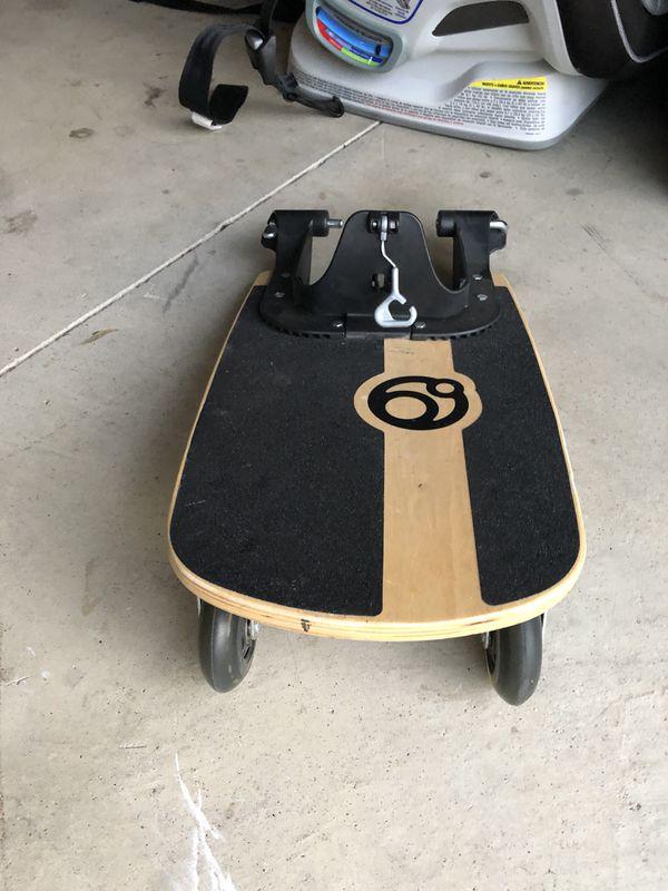 Orbit Baby Stroller Sidekick Skate Board Attachment For Sale In Highland Ca Offerup