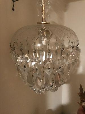 Vintage Crystal chandelier for Sale in Potomac, MD