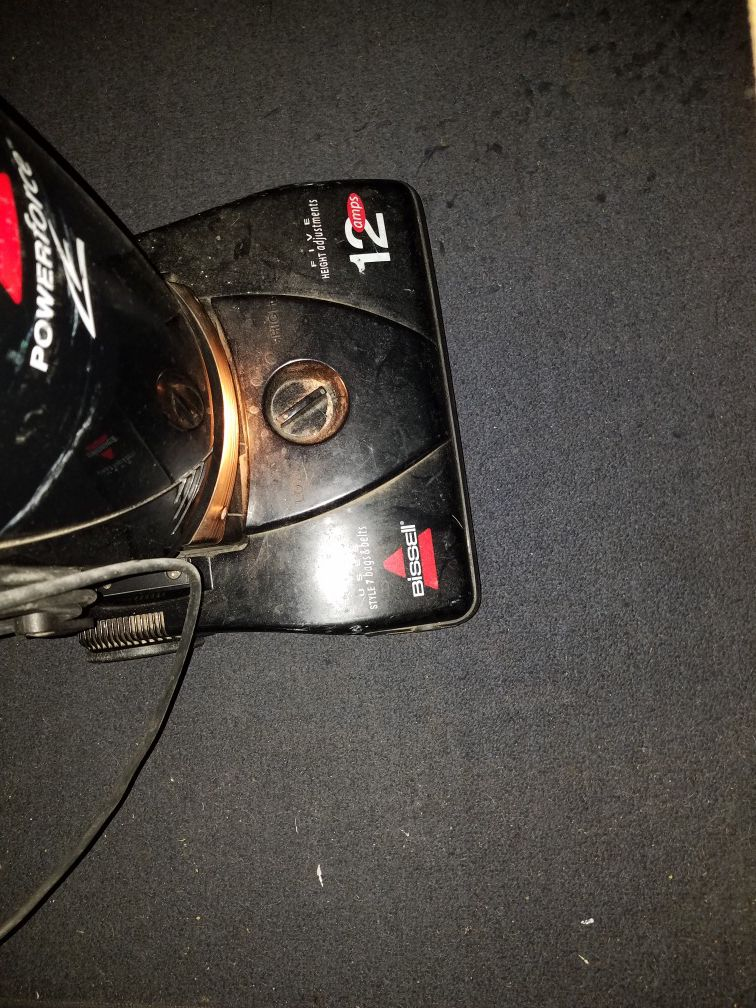 Bissell vacuum powerforce 12 amps