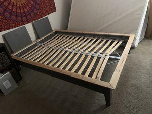 Photo Full size IKEA bed like new!