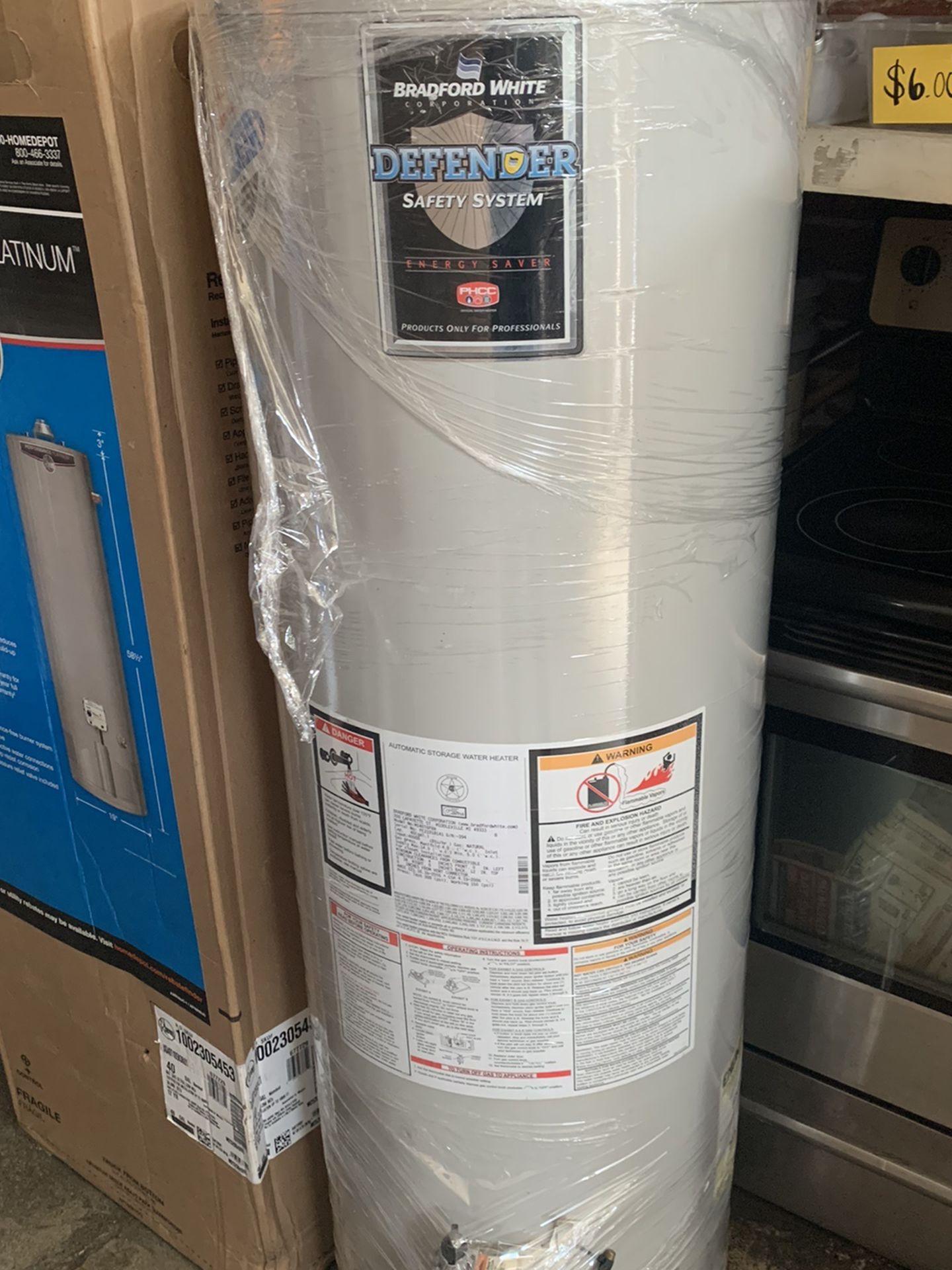 Water Heater 40 Galones 1 Año De Garantia