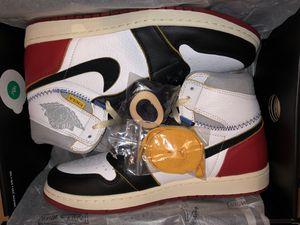 Jordan 1's Union Black toes LA DS. Size 10.5... no trades. for Sale in Washington, DC