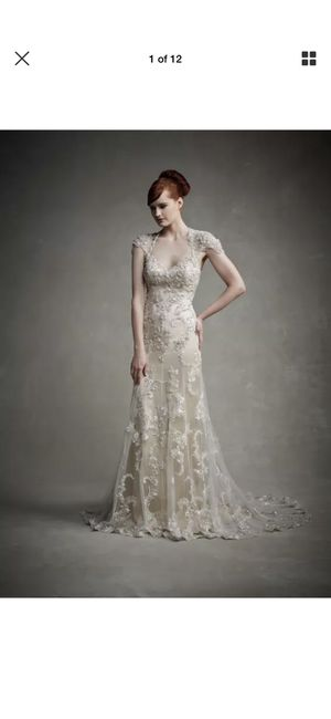 Enzoani wedding dress - NWT, never worn! for Sale in Cleveland, OH