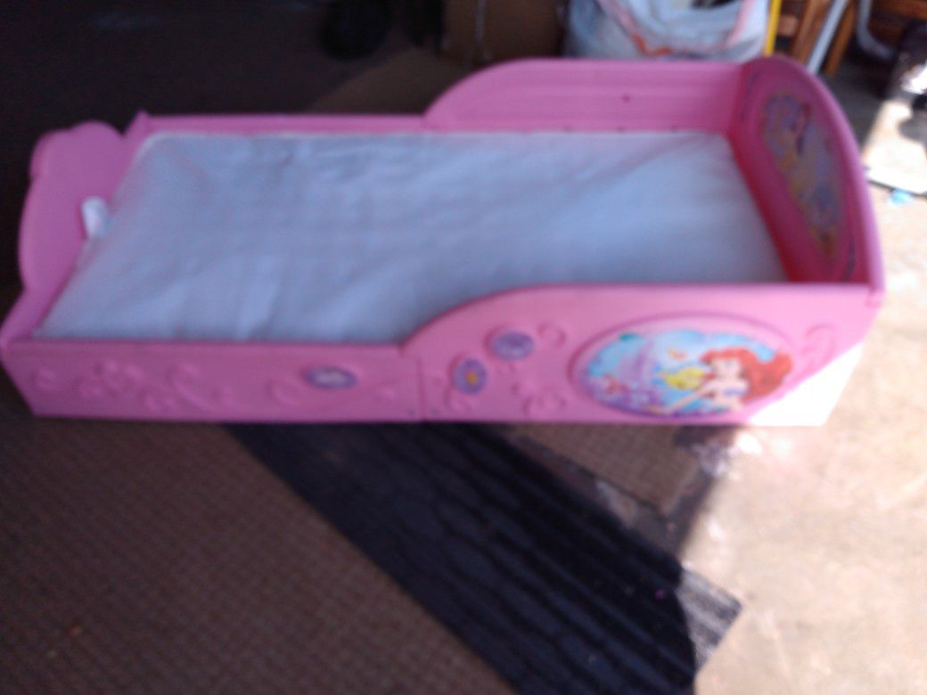 Toddler Bed Including Mattress In Very Good Condition